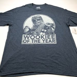 Star Wars Wookiee of the Year XL Men's T-Shirt NEW